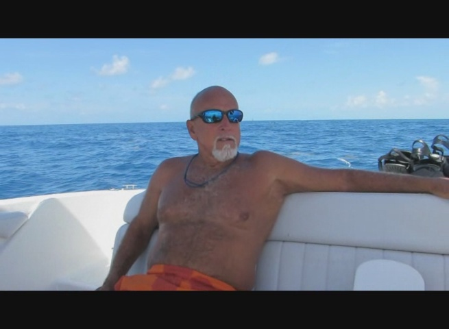 Don chillin at sea