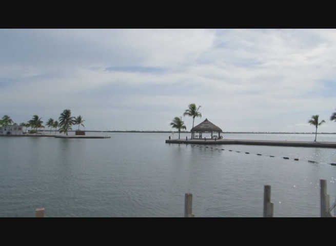 The point and boat  launch/marina at Venture Out on Cudjoe Key